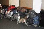 Patlamanın ardından yüzlerce valiz sahipsiz kaldı
