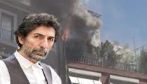 Mustafa Uğurlu'nun evinde yangın çıktı!..