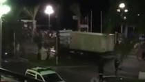 Teröristler kamyonla kalabalığın arasına böyle daldı