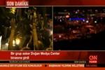 Askerler CNN Türk binasına girdi