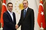Erdoğan, Çipras ile görüştü