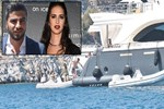 Serkan Uçar ve Ceylan Çapa'nın özgür tatili!