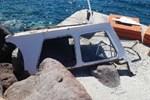 Ege'de sürat teknesi tur teknesine çarptı