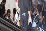 Taksim Metrosu'nda yürüyen merdiven kazası