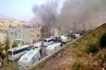 Cizre'de polis kontrol noktasına bomba yüklü araçla saldırı