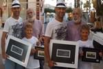Murat Evgin ve oğluna Bodrum'da sıcak ilgi