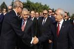Cumhurbaşkanlığı sitesinde dikkat çeken iki fotoğraf!