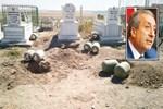 Aile mezarlığına 640 kilo bomba!