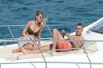 Tuğba Coşkun ve Önder Fırat'ın tekne sefası