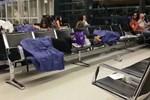 Viyana Havalimanı'nda rezalet!