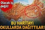 Prizren'de okullara dağıtılan 'Türkiye haritası' büyük tepki çekti