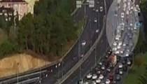 Feci metrobüs kazasının görüntüleri