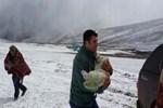 Ardahan'a kar erken yağdı!