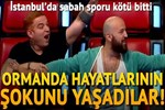 İstanbul'da sabah sporu kötü bitti!...