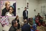 Lindsay Lohan Sultanbeyli'deki Suriyelileri ziyaret etti