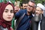 Cübbeli Ahmet Hoca'yı görenler kameraya sarıldı
