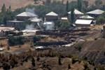 PKK'lı teröristler Derecik'te üs bölgeye saldırdı