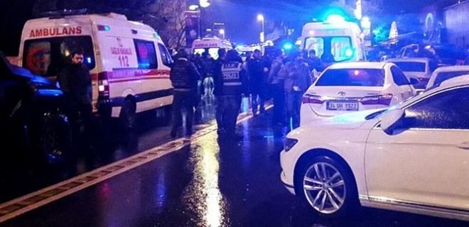 Ortaköy'de gece kulübüne silahlı saldırı!
