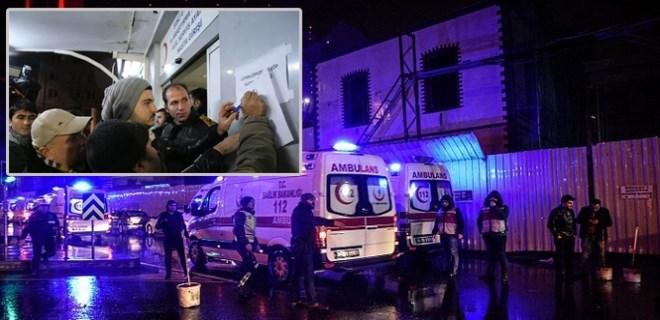 Hain saldırı sonrası yaralı yakınları hastanede liste oluşturdu