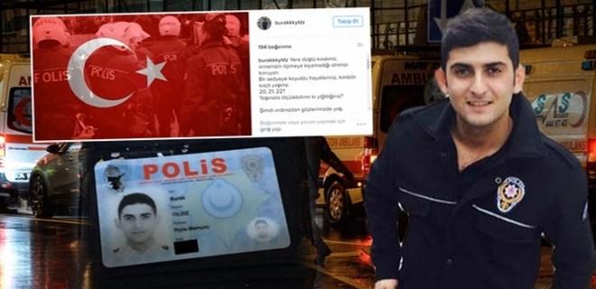 Şehit polisin son paylaşımı yürek burktu
