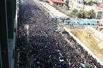 Yüz binlerce İranlı, Rafsancani'yi uğurluyor