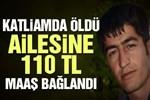 Gar katliamında oğlu ölen babaya 110 TL!
