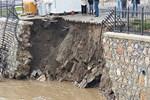 Çanakkale'yi önce deprem sonra sel vurdu!