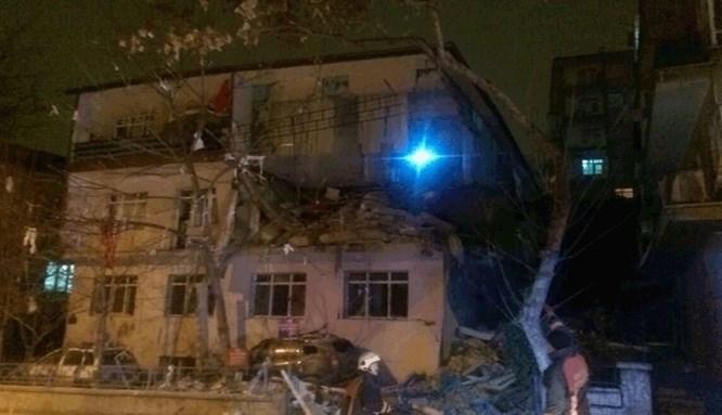 Ankara'da korkutan doğalgaz patlaması!