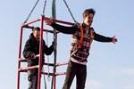 Berk Atan 54 metreden atladı