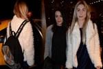 Aleyna Tilki okul çantası ve annesiyle gecelerde!