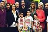 4 yıl önce boşanan Gülben Ergen ile Mustafa Erdoğan, oğulları Atlas'ın doğum günü partisinde kavga...
