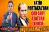 Fox TV ana haber sunucusu Fatih Portakal, canlı yayında cumhuriyet dönemi ve Atatürk'ün müfredatta...