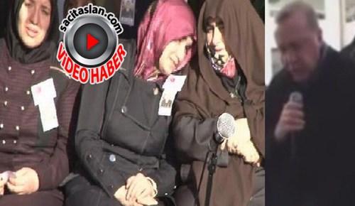 Cumhurbaşkanı Erdoğan şehit cenazesinde Kur'an-ı Kerim okudu