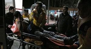 Polisten kaçan şüpheli bacağından vuruldu!