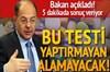Sağlık Bakanı Recep Akdağ, doktorların artık hastanın antibiyotik kullanıp kullanmayacağına 5...