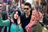 Murat Yıldırım'ın düğünü için Fas'a giden Tolgahan Sayışman, sokakta halkın ilgisinden dolayı...