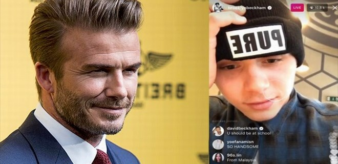 David Beckham'ın mesajı sosyal medyayı salladı!