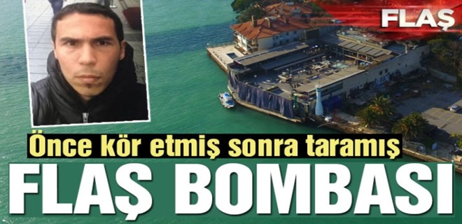 Reina saldırganı flaş bombası kullanmış