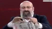 Yeni Şafak yazarı canlı yayında Cumhuriyet'i parçaladı