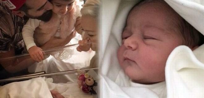 Gökhan Türkmen ikinci kez baba oldu