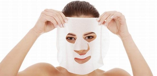 Evde yapılan kolajen maske!