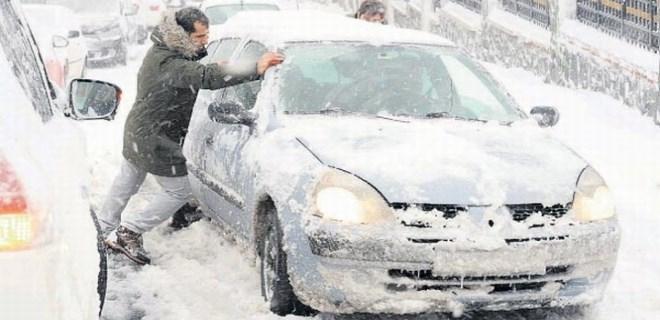 İstanbul'da buzul çağı!