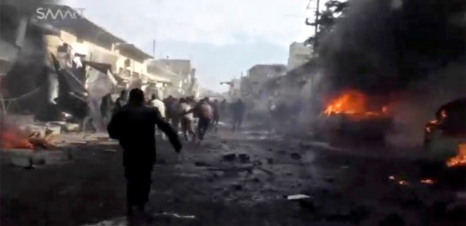 Suriye ve Irak'ta bombalı araçla saldırı!...