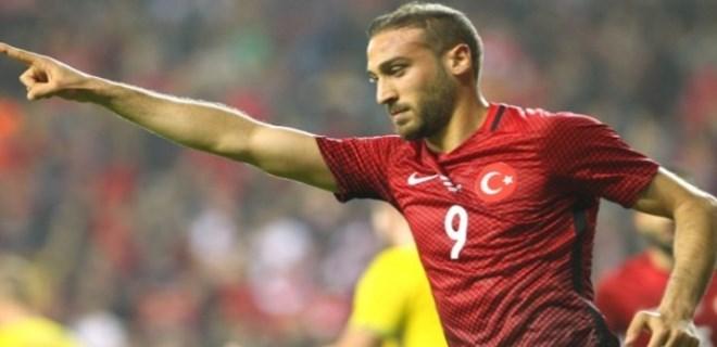 Milli Takımın en golcü oyuncusu Cenk Tosun oldu
