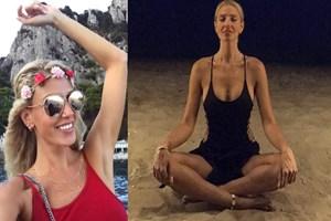 Dilara Öztunç 1 haftalık meditasyon kampına giriyor