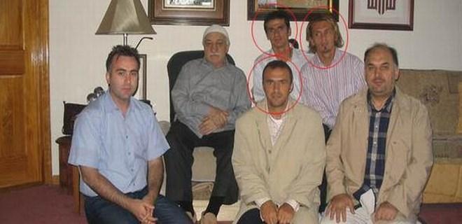 3 eski futbolcu Gülen ile aynı karede!