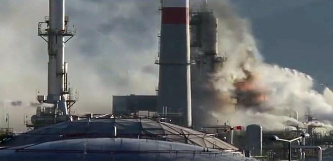 Tüpraş'taki patlamanın ardından 7 gözaltı!