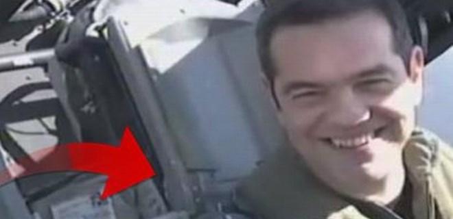 Aleksis Çipras, F-16 ile Ege'de uçtu!