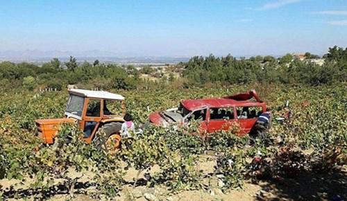 Kızının düğününe giderken kazada öldü