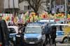 Alman polisi sosyal medya hesabından terör örgütü PKK'ya destek verdi. Bu tweetin ardından...